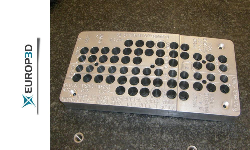 grille de perçage 5 axes
